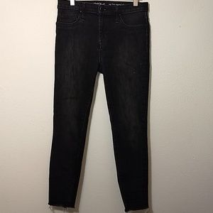 Mossimo | Black High Rise Jegging Crop - 4